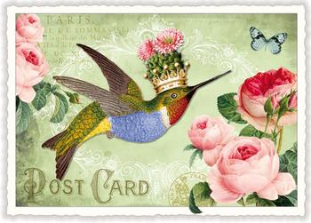Postcard Edition Tausendschoen | Kolibri
