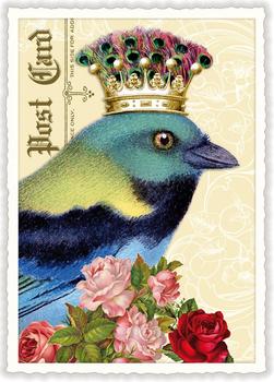 Postcard Edition Tausendschoen | Bluebird