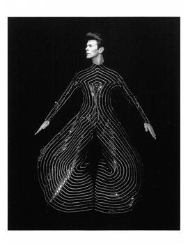 Postcard   David Bowie Hollywood 1989