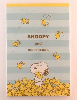 Letter Paper Pad | Peanuts Snoopy & his friends