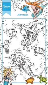 Marianne Design Clear Stamp | Mermaid