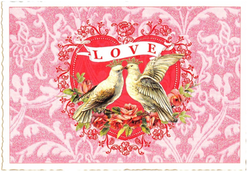 Postcard Edition Tausendschoen | Love