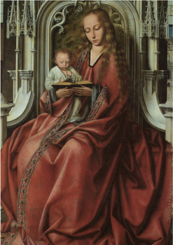 Postcard | Madonna on a Throne, 1500