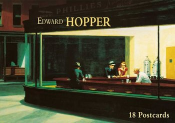 Tushita Postcard Book | Edward Hopper