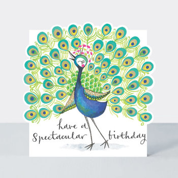 Rachel Ellen Designs Cloud Cuckoo Land - Spectacular B'day Peacock