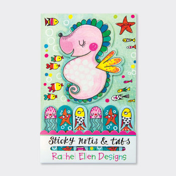Rachel Ellen Designs Sticky Notes & Tabs - Seahorse