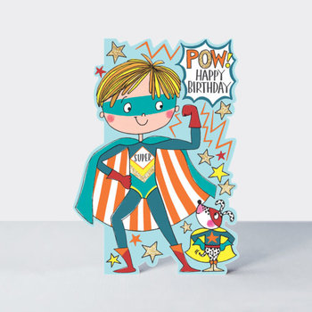 Rachel Ellen Designs Cards - Little Darlings - POW Super Hero