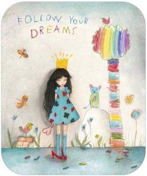 TV Art Postcard Mila   Dreams