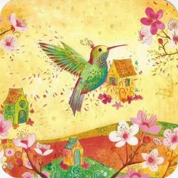 Jehanne Weyman Postcard | Hummingbird