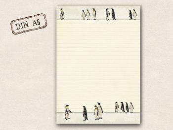 A5 Schreibblock TikiOno | Pinguine