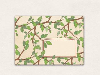 10 x Envelope TikiOno | Laubbaum