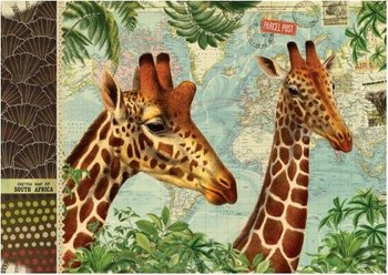 Illustrated notebook Gwenaëlle Trolez Créations - Savane