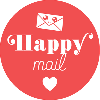 5 Stickers | Happy Mail