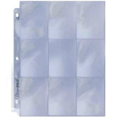 9 Pocket Page Protectors for Pocket letters | Ultra Pro silver series