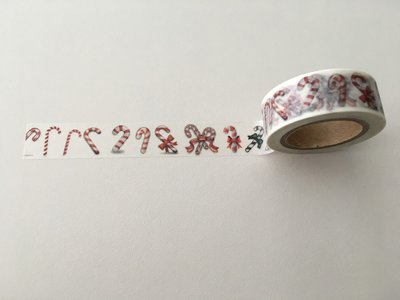 Christmas Washi Masking Tape | Candy Canes
