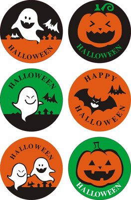 Sealing Stamp Stickers | Happy Halloween