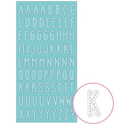 Mindwave Petit Poche Alphabet Seal Sticker | Stardust
