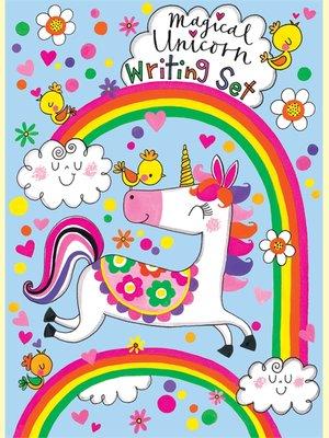 Rachel Ellen Designs Writing Set WALLET | Magical Unicorn