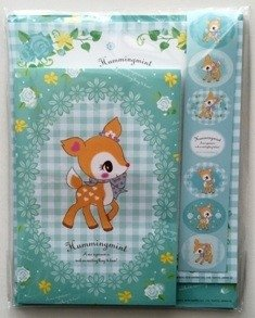 Sanrio Hummingmint letter set