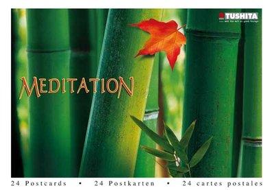 Tushita Postcard Book | Meditation