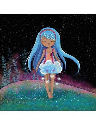 FANNY-O Square Art Postcard | Douce Nuit