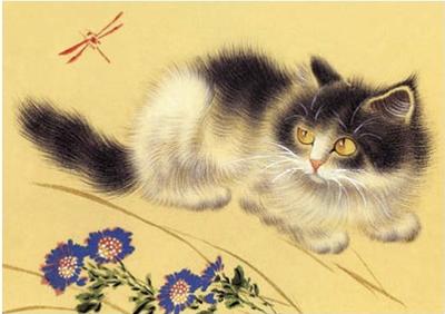 Postcard | Chinese Kitten