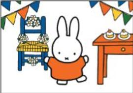 Nijntje Miffy Postcards | Nijntje viert feest