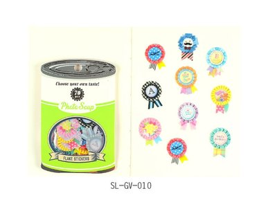 Photo Soup Sticker Flakes Sack | Birthday Batches