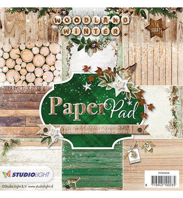 Studio Light Quality Papers Paper Pad | Woodland Winter