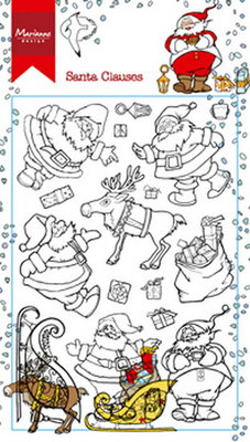 Marianne Design Clear Stamp | Hetty's Santa Claus