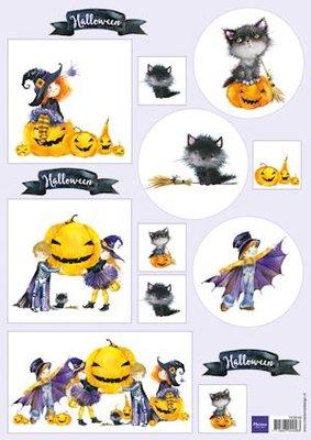 Marianne Design Cutting Sheet | Halloween