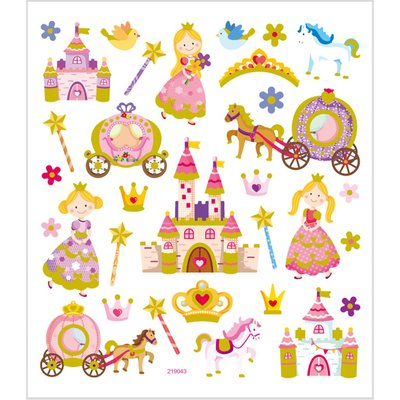 Seal Sticker with Glitter Foil | Fairy World