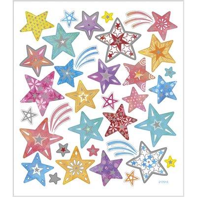 Seal Sticker with Glitter Foil | Stars
