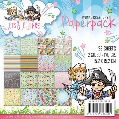 Paperpack - Yvonne Creations - Tots and Toddlers