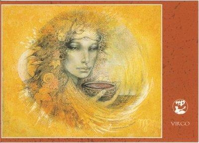 Zodiac Postcard Susan Seddon Boulet | Virgo