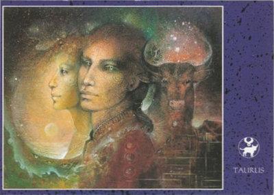 Zodiac Postcard Susan Seddon Boulet | Taurus