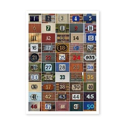 Postcard Kiek | Huisnummers