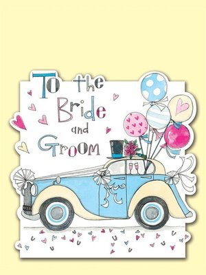 Rachel Ellen Designs - Postcards - To the Bride and Groom - Wedding Car