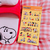 Snoopy Peanuts Character Seal Stickers | Yellow
