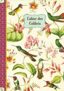 Illustrated notebook Gwenaëlle Trolez Créations - Cahier des Colibris