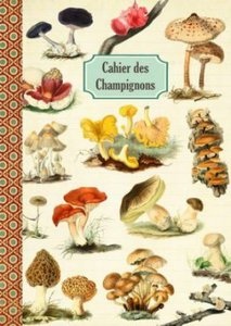 Illustrated notebook Gwenaëlle Trolez Créations - Cahier des Champignons
