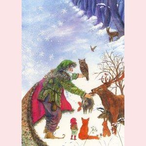 Postcard Daniela Drescher | Wintertijd