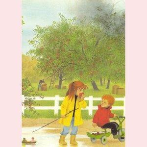 Postcard Gerda Muller - Autumn