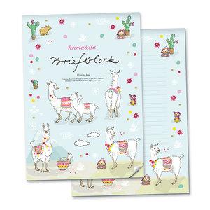 A4 Letter Paper Pad - Alpaca