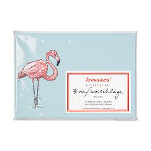 Envelope Set C6 - Flamingo