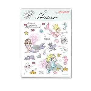 5 Sticker Sheets Krima & Isa | Mermaid