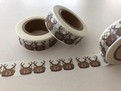 Washi Masking Tape | Reindeer