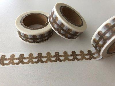 Washi Masking Tape   Gingerbread