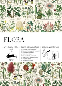Pepin Press - Gift and Creative Paper Book | Flora