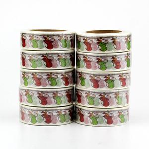 Washi Masking Tape | Kawaii Christmas Socks
